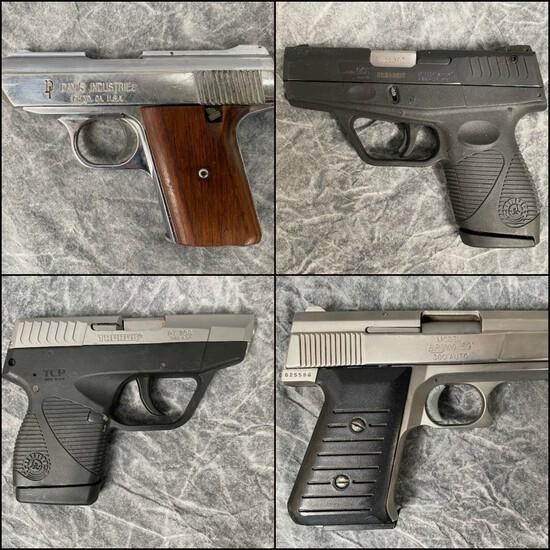 Modern Semiautomatic Pistols