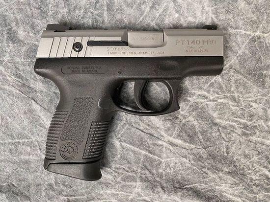 Taurus Model PT140 Pro Semiautomatic Pistol