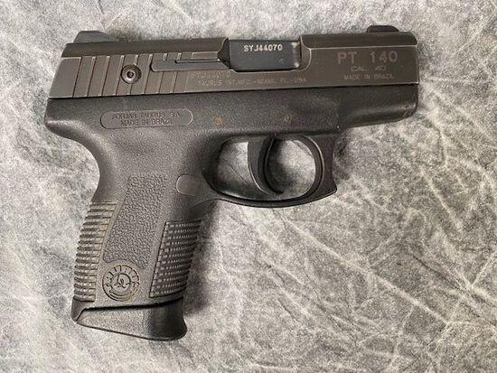 Taurus Model PT140 Semiautomatic Pistol
