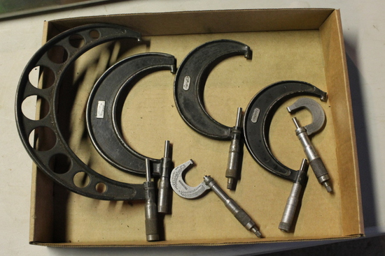 (6) Outside Micrometers
