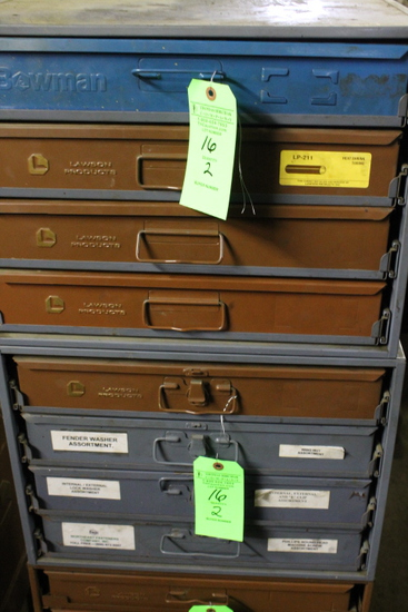 Lawson & Bowman Parts Cabinets
