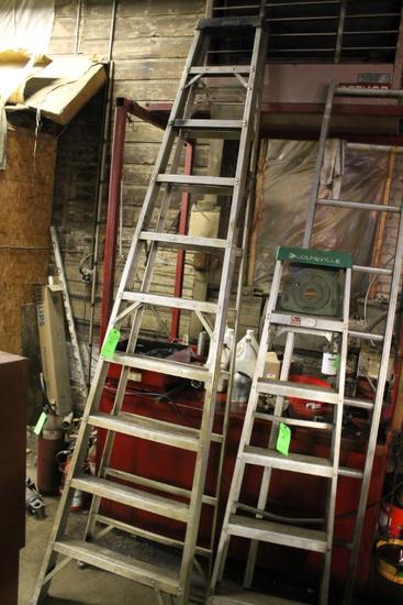 10' Aluminum Step Ladder