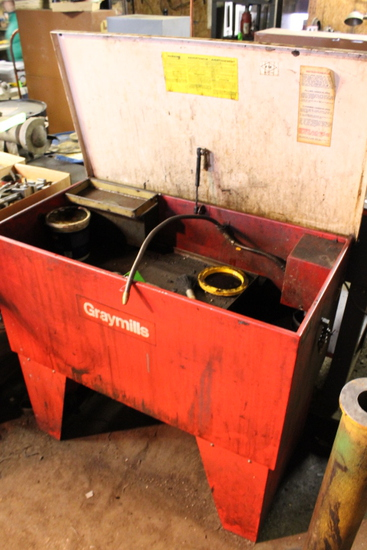Graymills Electric Parts Washer