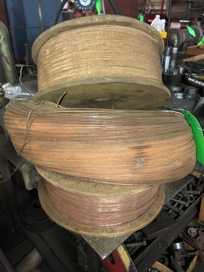 (3) Rolls of Wire Feed