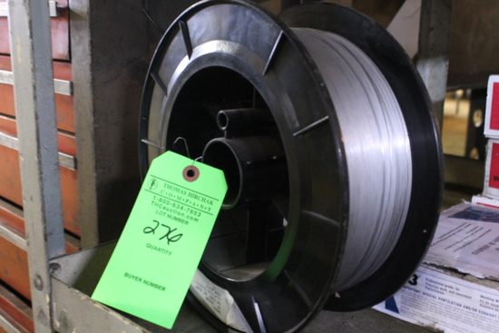 Partial Spool of .035mm Welding Wire
