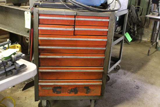 Craftsman 9-Drawer Tool Box on Casters