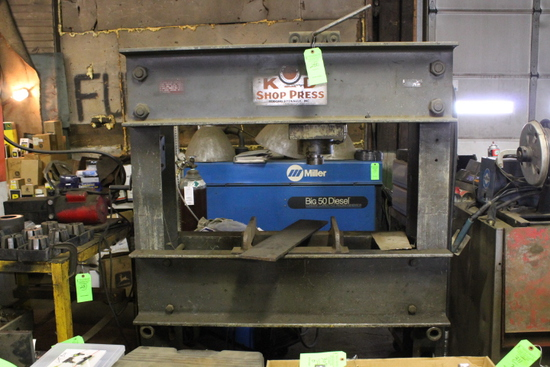 Rodgers KD Hydraulic Shop Press