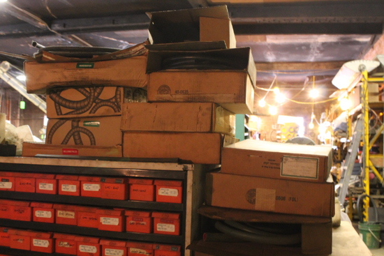 (14) Partial Boxes of Hydraulic Hose & Wrap