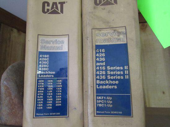 (2) CAT Service Manuals