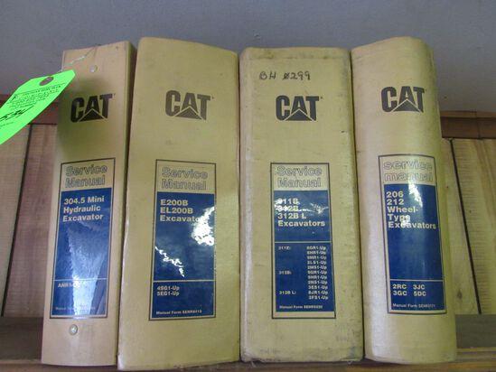 (4) CAT Service Manuals