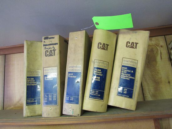 (5) CAT Service Manuals