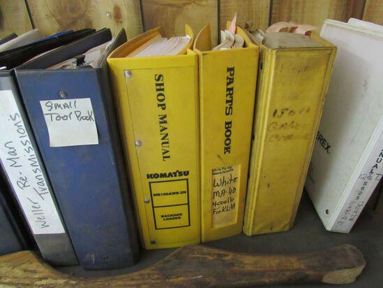 (30+/-) Asst. Shop Manuals