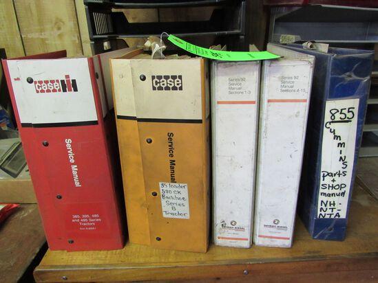 Asst. Case, Detroit Diesel & Cummins Manuals