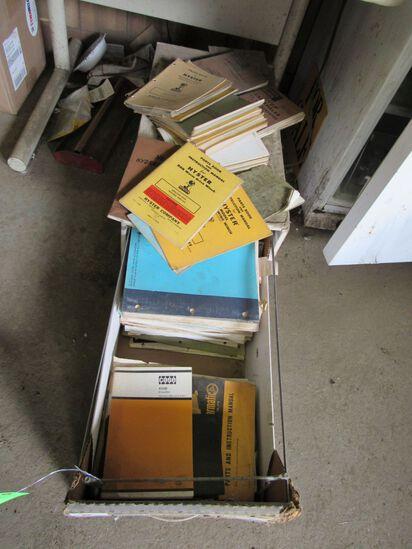 Asst. Vintage Shop Manuals