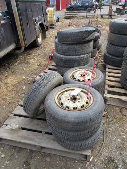 (3) Pallets Asst. Tires & Rims