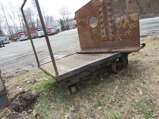 Vintage Lumber Cart w/ Handle
