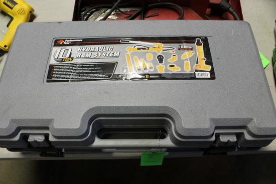 Performance Tool 10 Ton Hydraulic Ram System