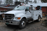 2006 Ford F750 Super Duty Service Truck