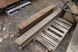 Pallet of Assorted Iron Beams