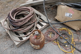 Pallet of Assorted Hydraulic, Automotive & Equipment Hose