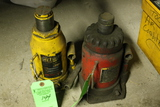 (2) 20 Ton Hydraulic Bottle Jacks