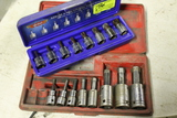 XZN 100 8-Piece Triple Square Drive Set & Proto Hex Drive Set (incomplete)