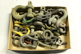 Quantity of Chain Hooks, Pulling Pins, Etc.