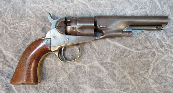 Colt Model 1862 Police Single Action Revolver