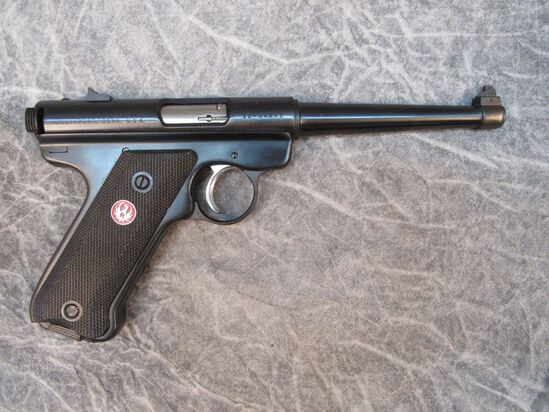 Ruger Mark II Semiautomatic Pistol