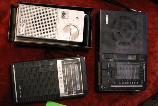(3) Portable Radios