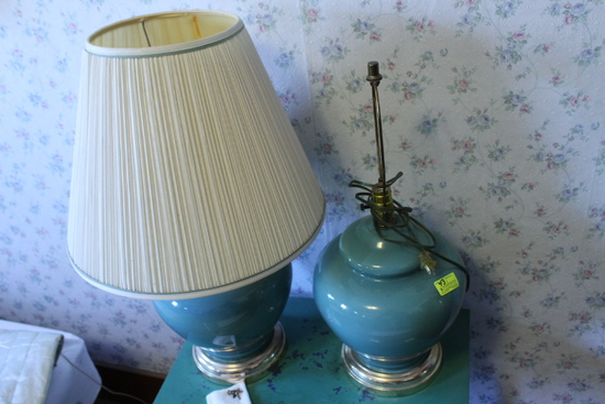 (2) Dressing Table Lamps