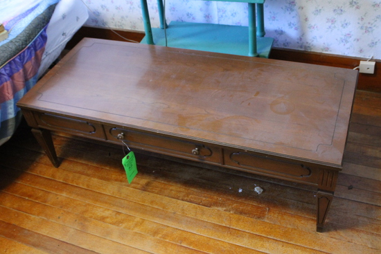 Mersman Wood Coffee Table & 1-Drawer End Table