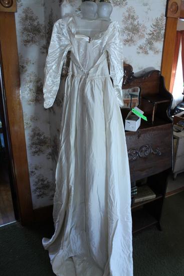 Heirloom Hand Stitched Wedding Dress