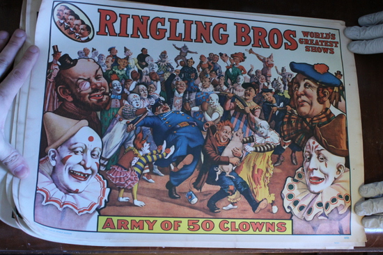 (8) 1960's Circus Posters