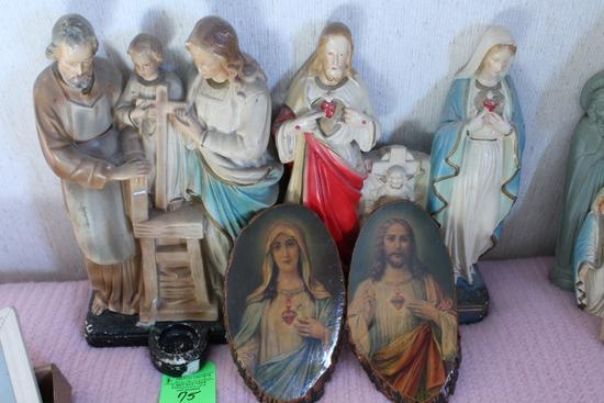 Mary & Jesus Figures & Prints
