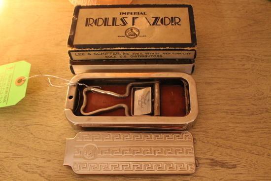 Vintage Imperial Rolls Razor W/ Box