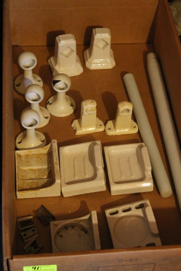 (9) Porcelain Bathroom Fixtures