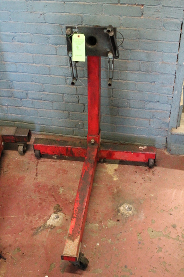 Ex-Cel Rolling Engine Stand