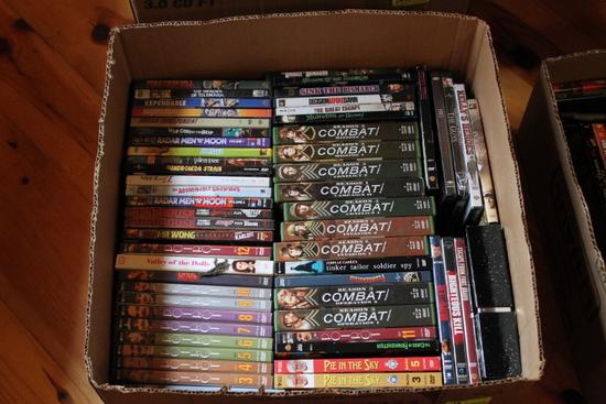 (60) Asst. DVD's