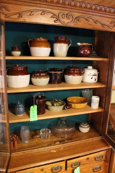 (12) Pieces Stoneware