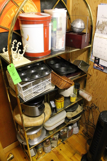 Contents of Pantry Room