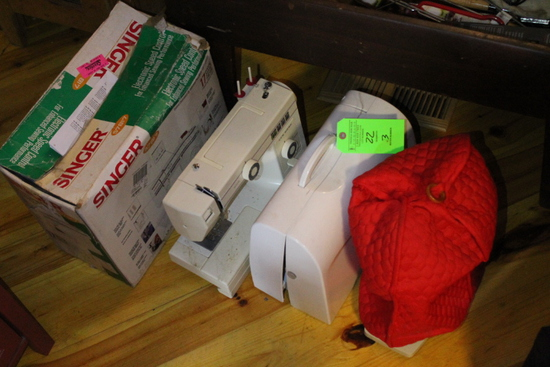 (3) Electric Sewing Machines