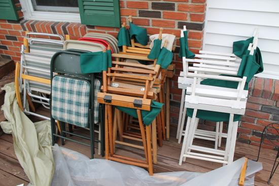 (22) Patio Chairs