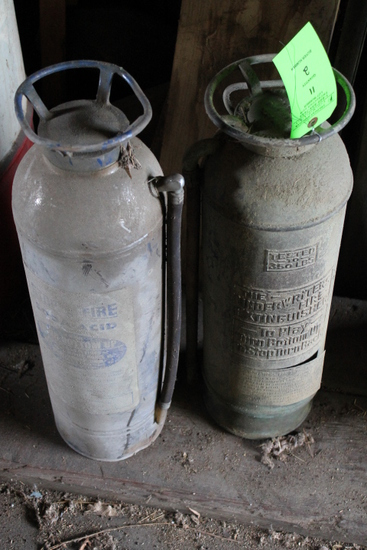 (2) Vintage Fire Extinguishers