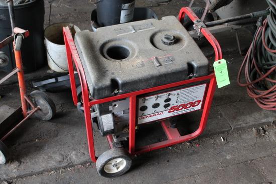 10 HP Portable Generac 5000 Power Plus Generator