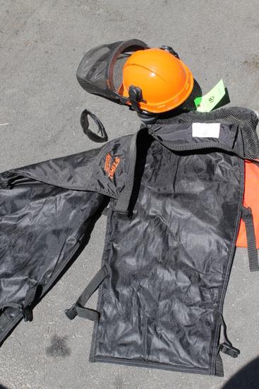 Stihl Protective Helmet & Chaps