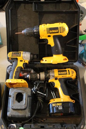 DeWalt 14.4 Cordless Tool Set