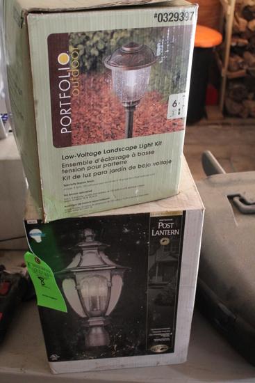 (3) Sets of Outdoor Lighting