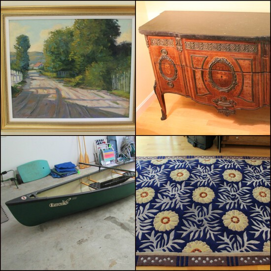 Artwork, Antiques & Household Furnishings