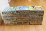 (148) Golden Books plus other books and random toys
